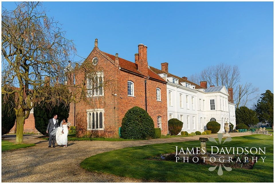 Gosfield Hall spring wedding photos