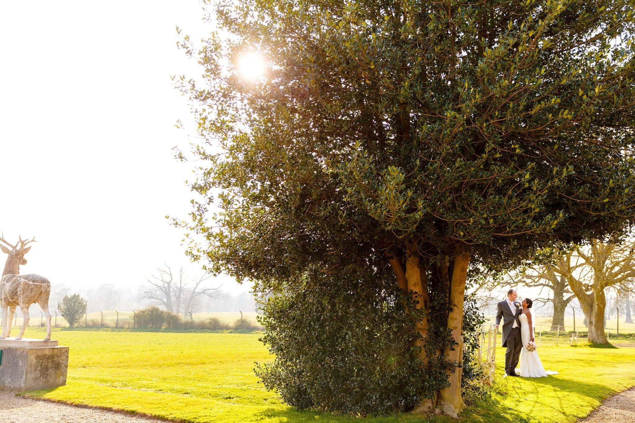 Gosfield Hall spring wedding of Meera & Tim