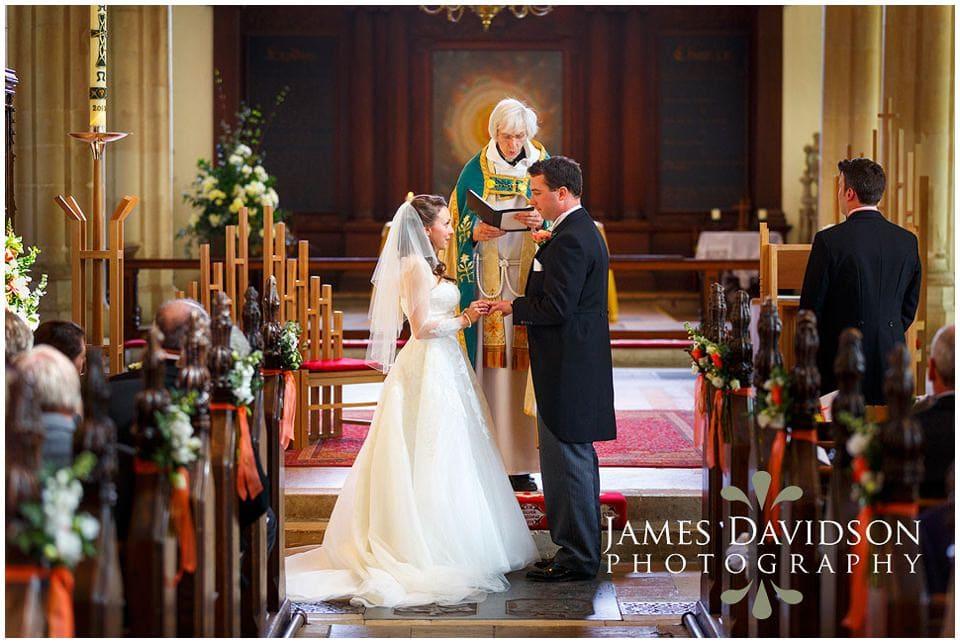 St Michaels Church wedding Framlingham