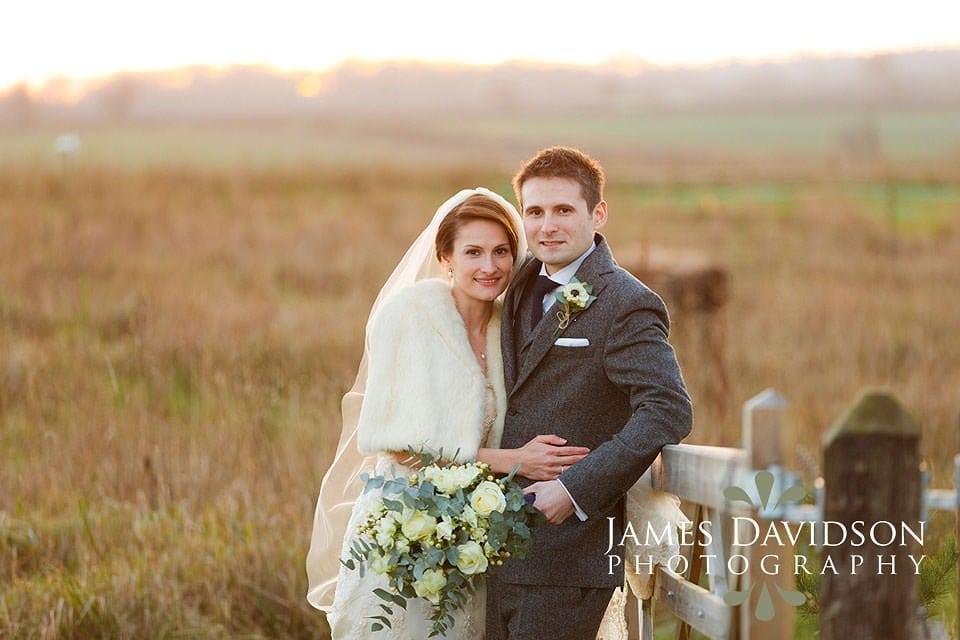 alpheton barns winter wedding