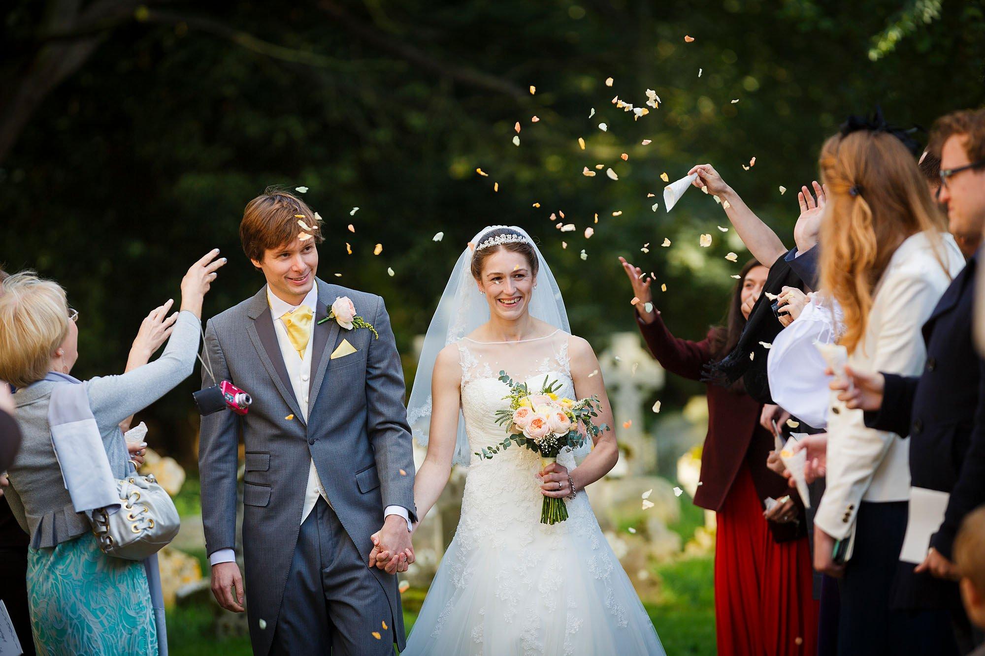 Emma & Daniel's wedding at Glemham