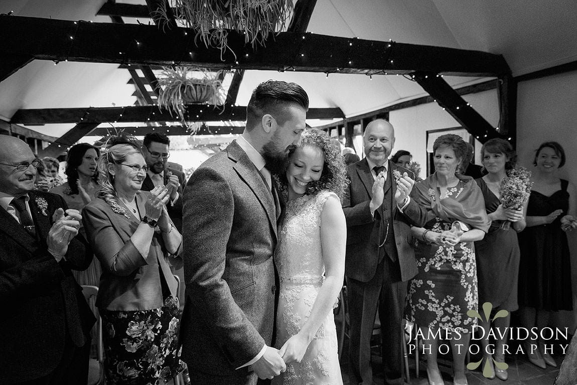 Recommended wedding photographer for South Farm