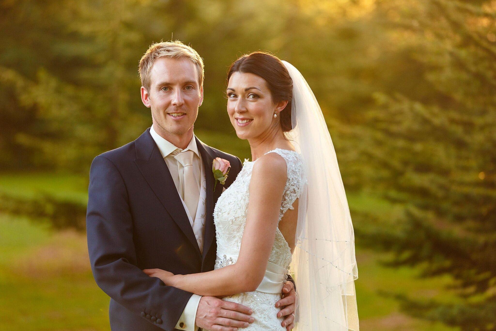 Prestwold Hall wedding of Jennifer and Steve