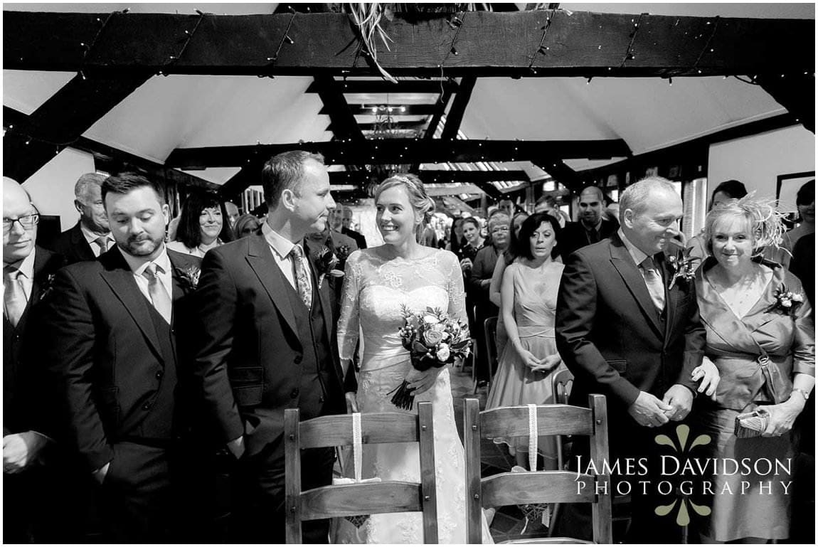 civil ceremony south farm wedding
