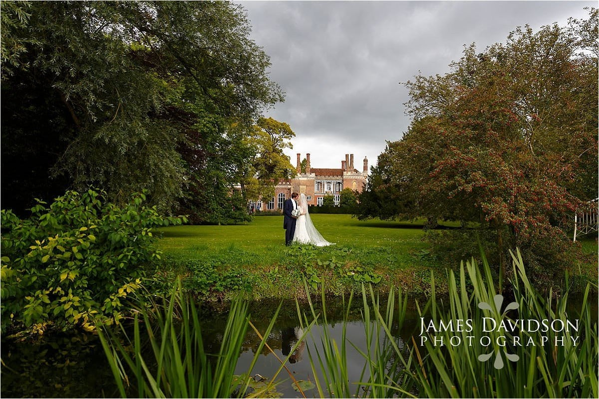 Nether Winchendon House summer wedding