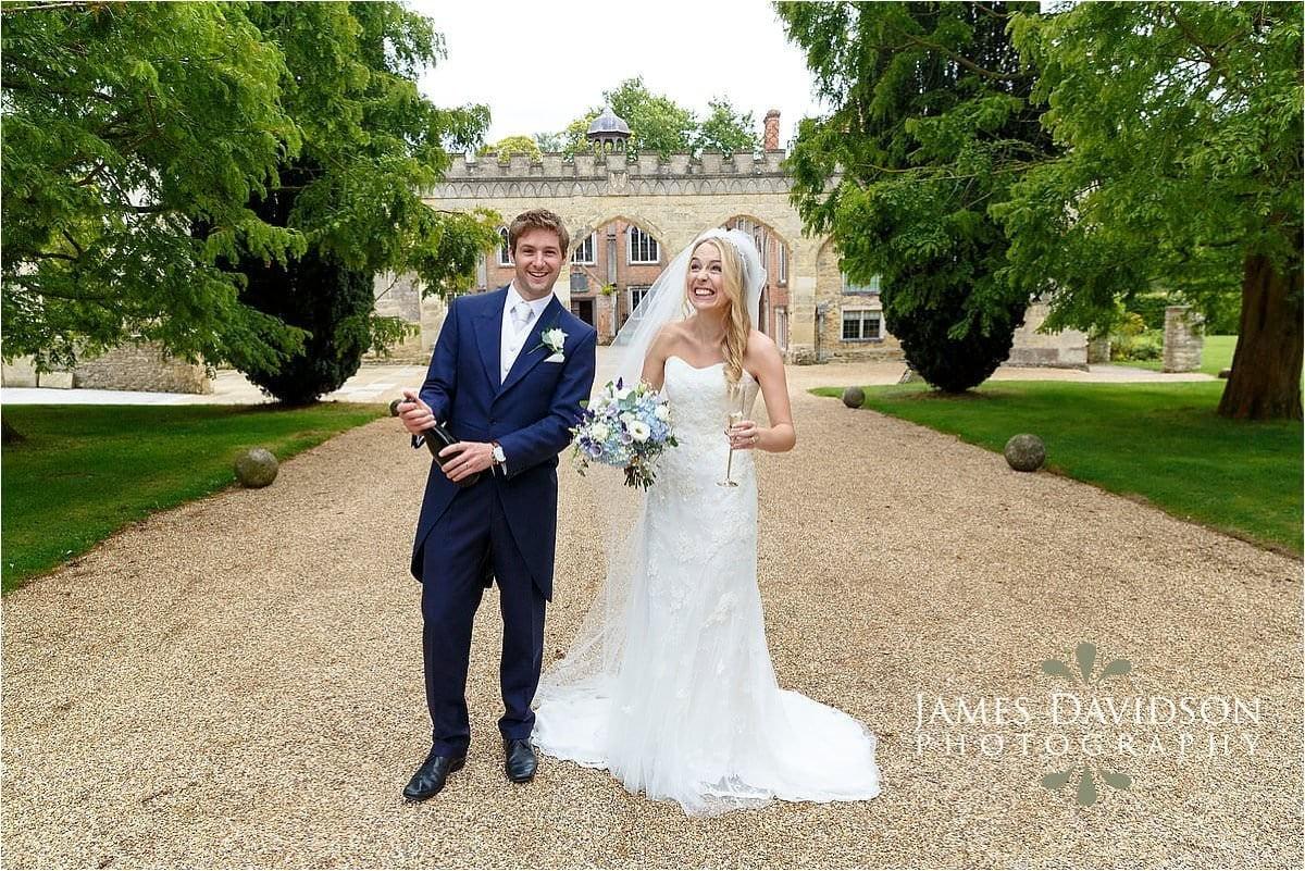 Nether Winchendon summer wedding photos