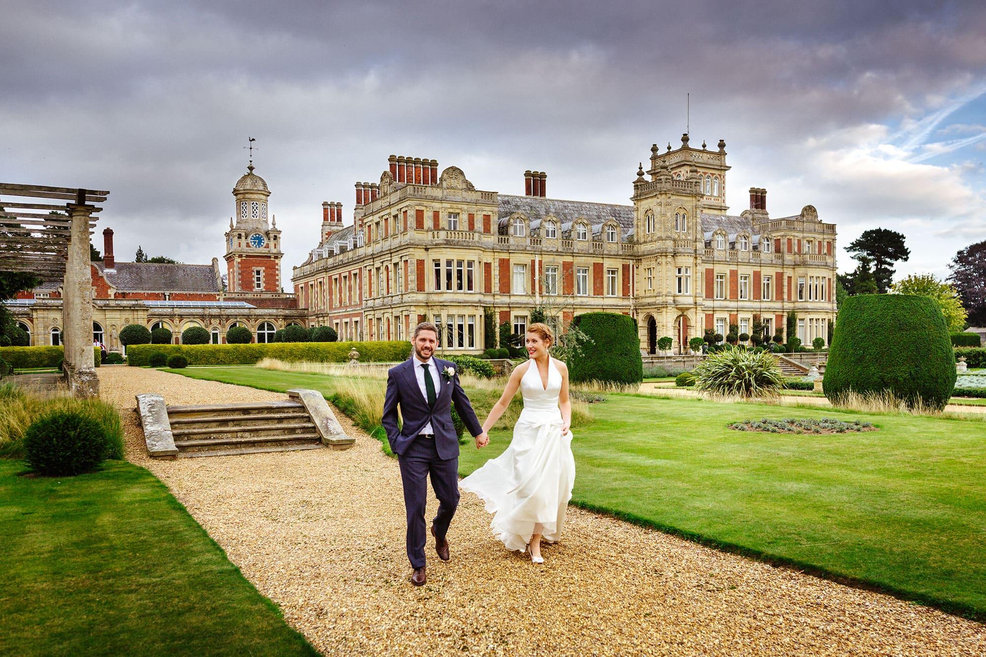 Somerleyton Hall wedding of Heather & Andrew