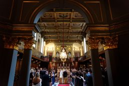 brompton oratory wedding photographer