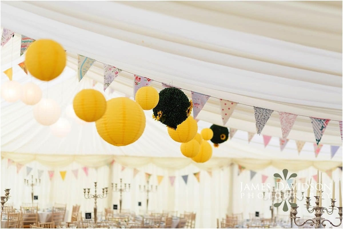 Bray wedding marquee