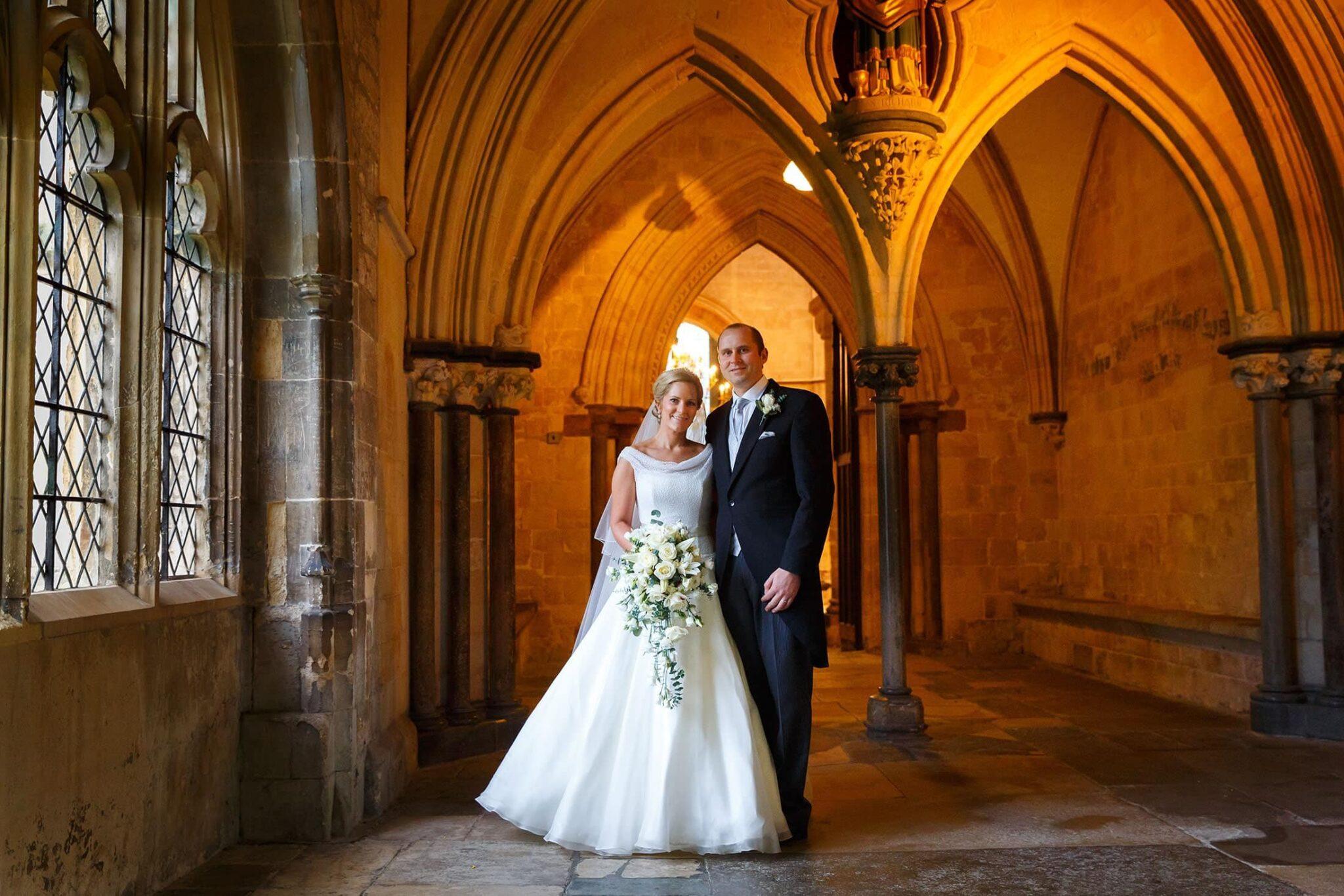 Goodwood wedding photography of Leah & Richard