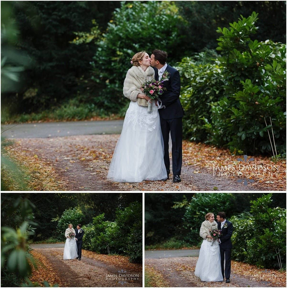 prestwold hall winter wedding