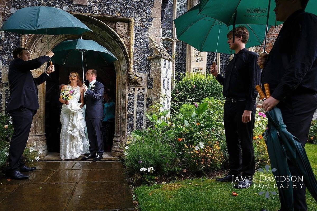 rain at hengrave hall