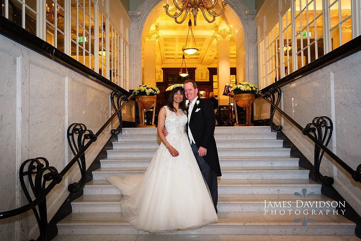 Savoy Hotel wedding photographer
