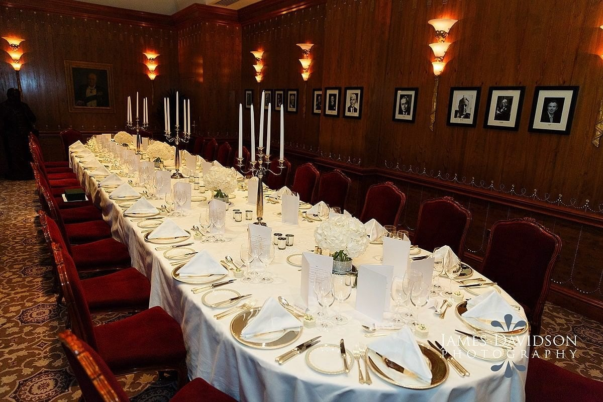 Churchill room Savoy Hotel London