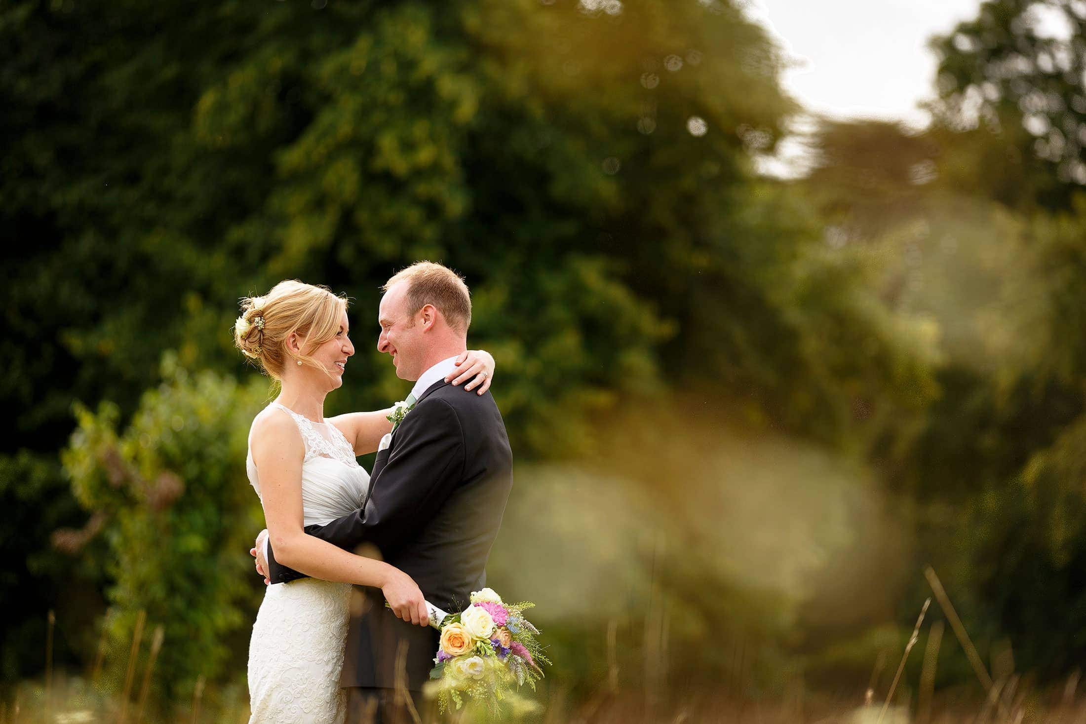 Hengrave wedding photography of Bit & Brownie