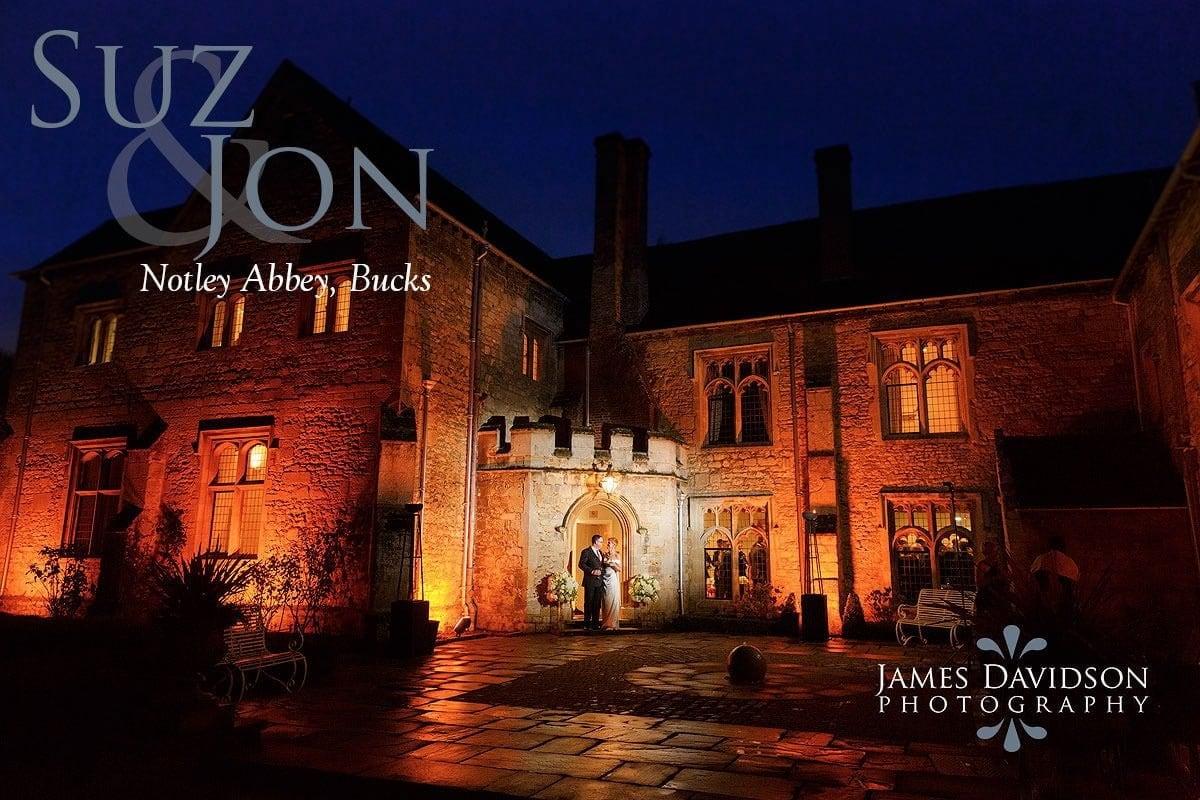 Notley Abbey autumn wedding