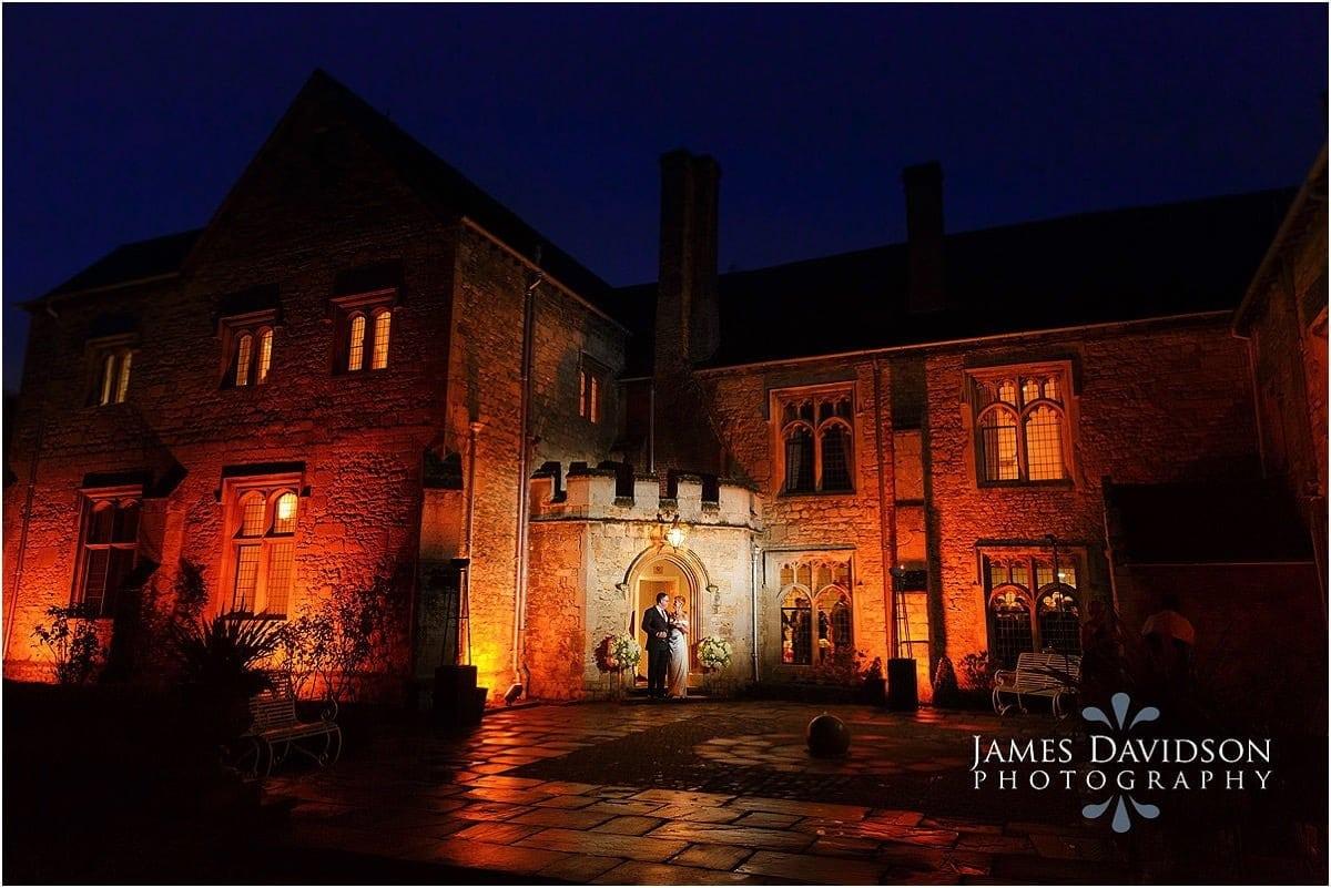 Notley Abbey autumn wedding photos