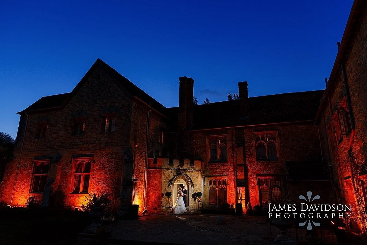 Notley Abbey Easter wedding