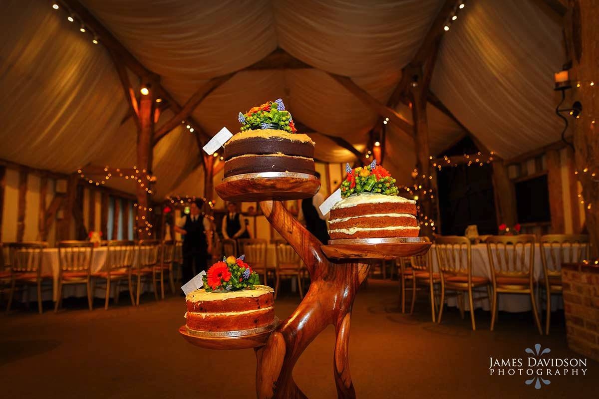 South Farm wedding cake
