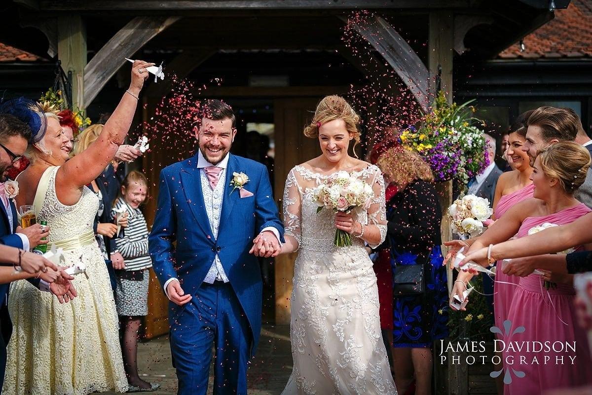 maidens barn wedding confetti