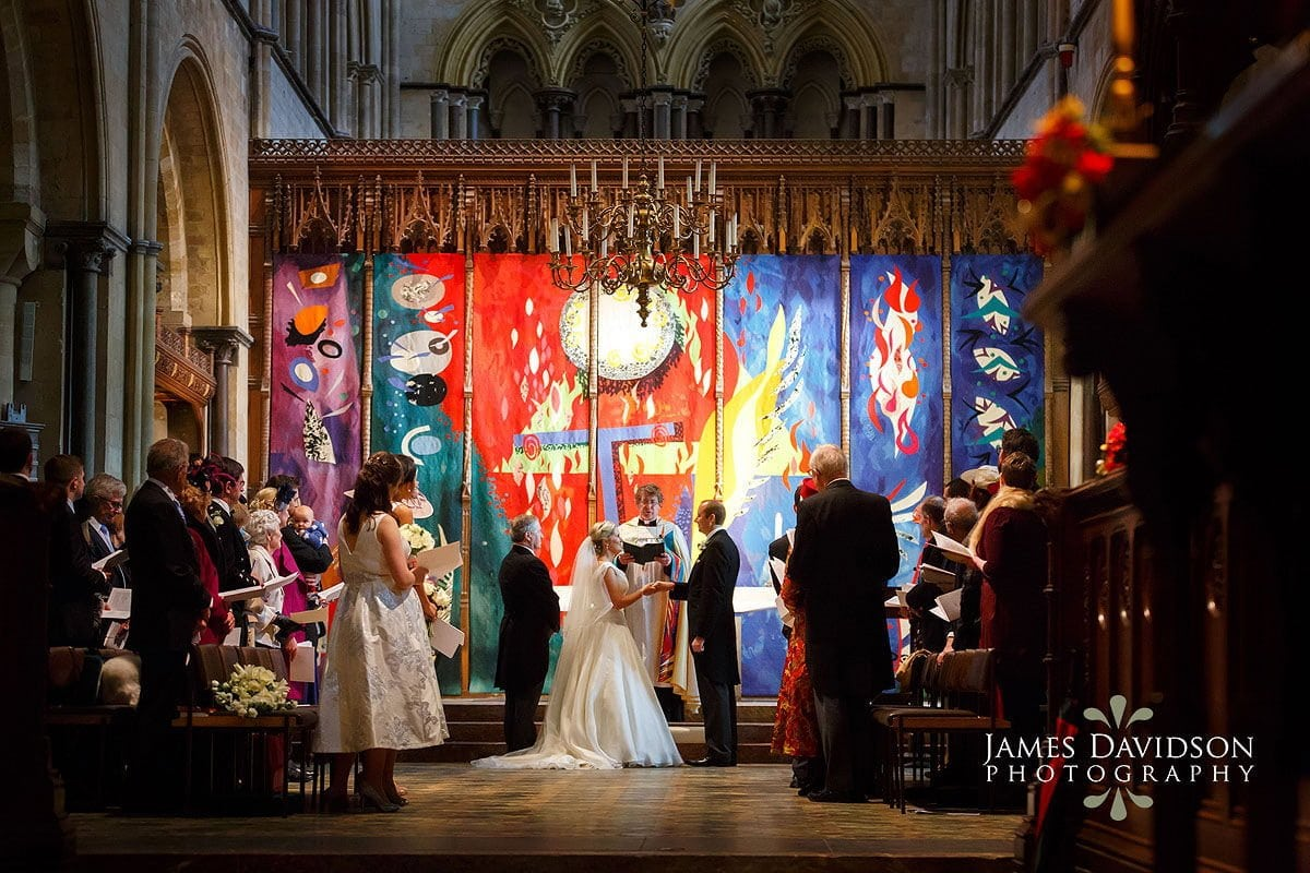 Chichester Cathedral wedding