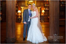 Gosfield Hall winter wedding