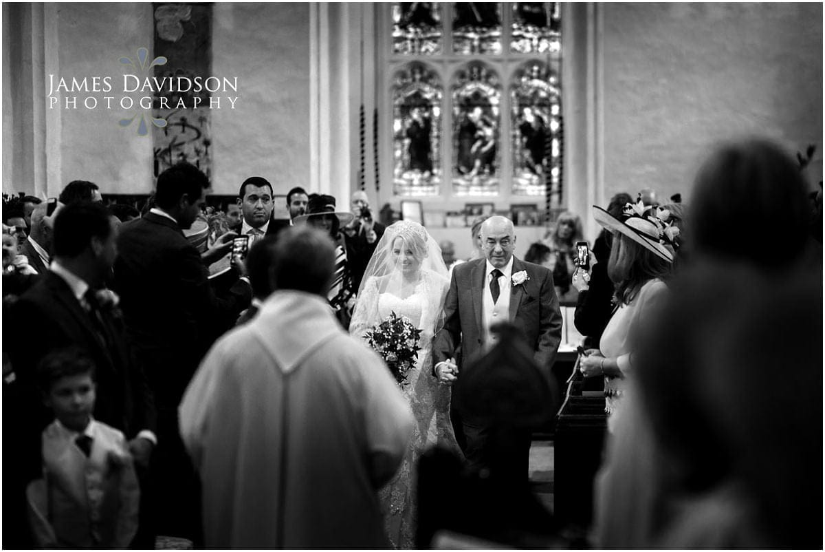 Gosfield Church wedding