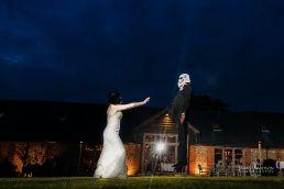 long barn wedding