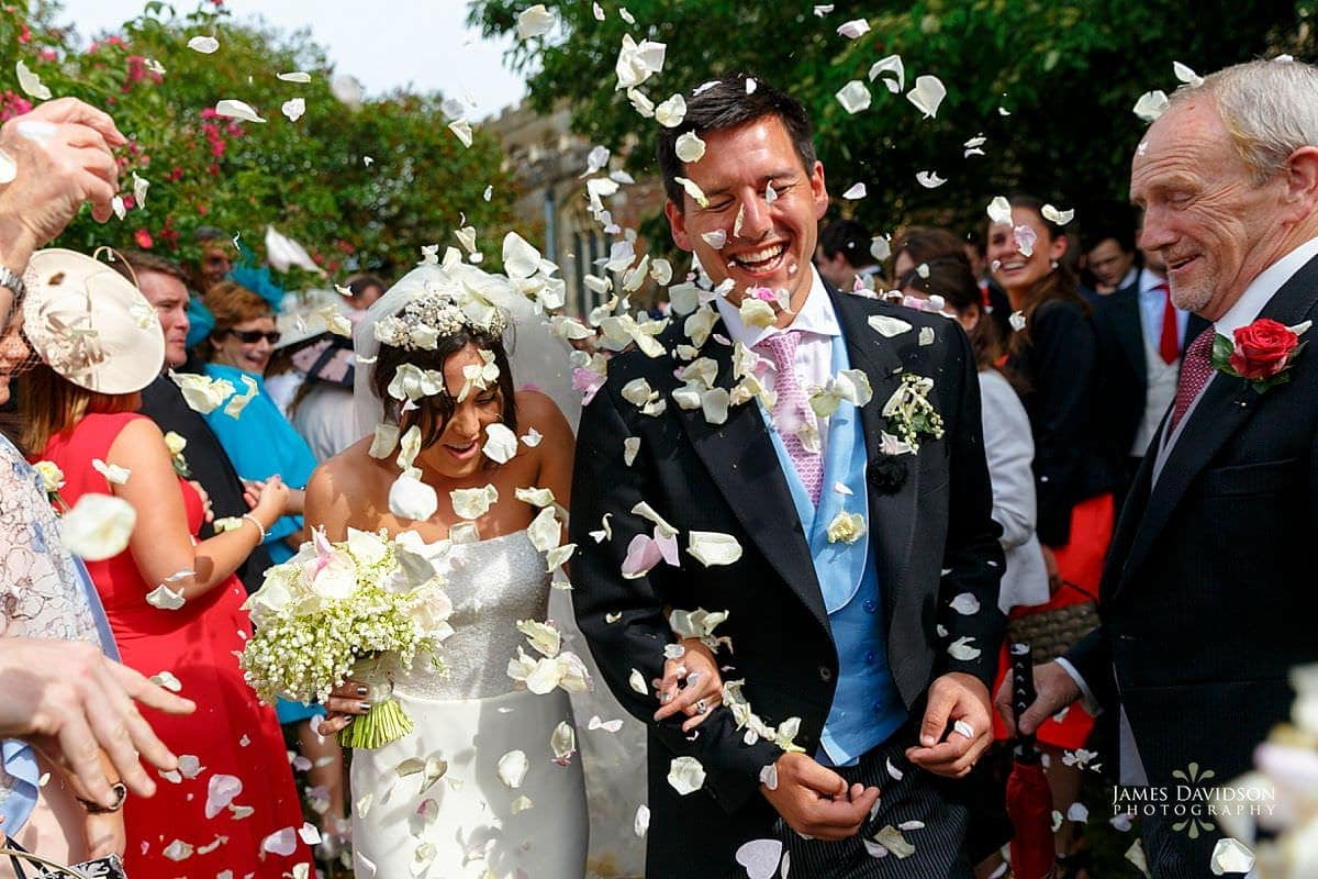 Suffolk wedding confetti