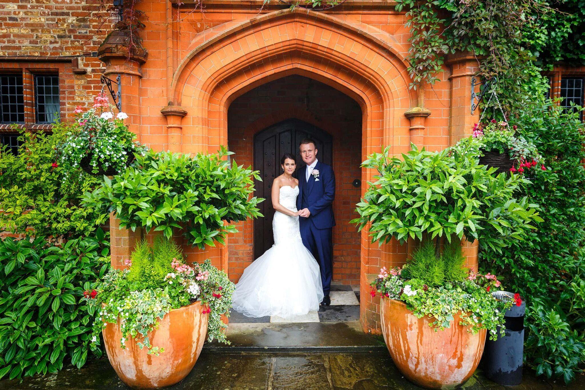Wedding photography Woodhall Manor of Sara & Stuart