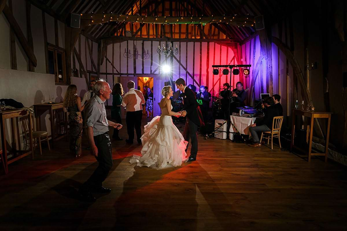 Bruisyard wedding dancing