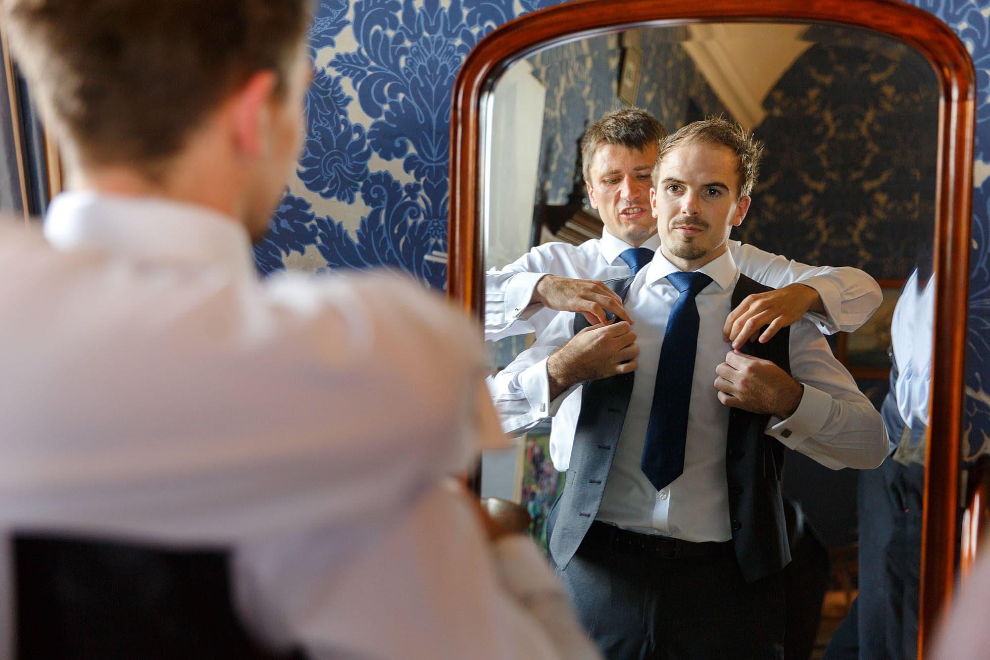 Hengrave Hall groom