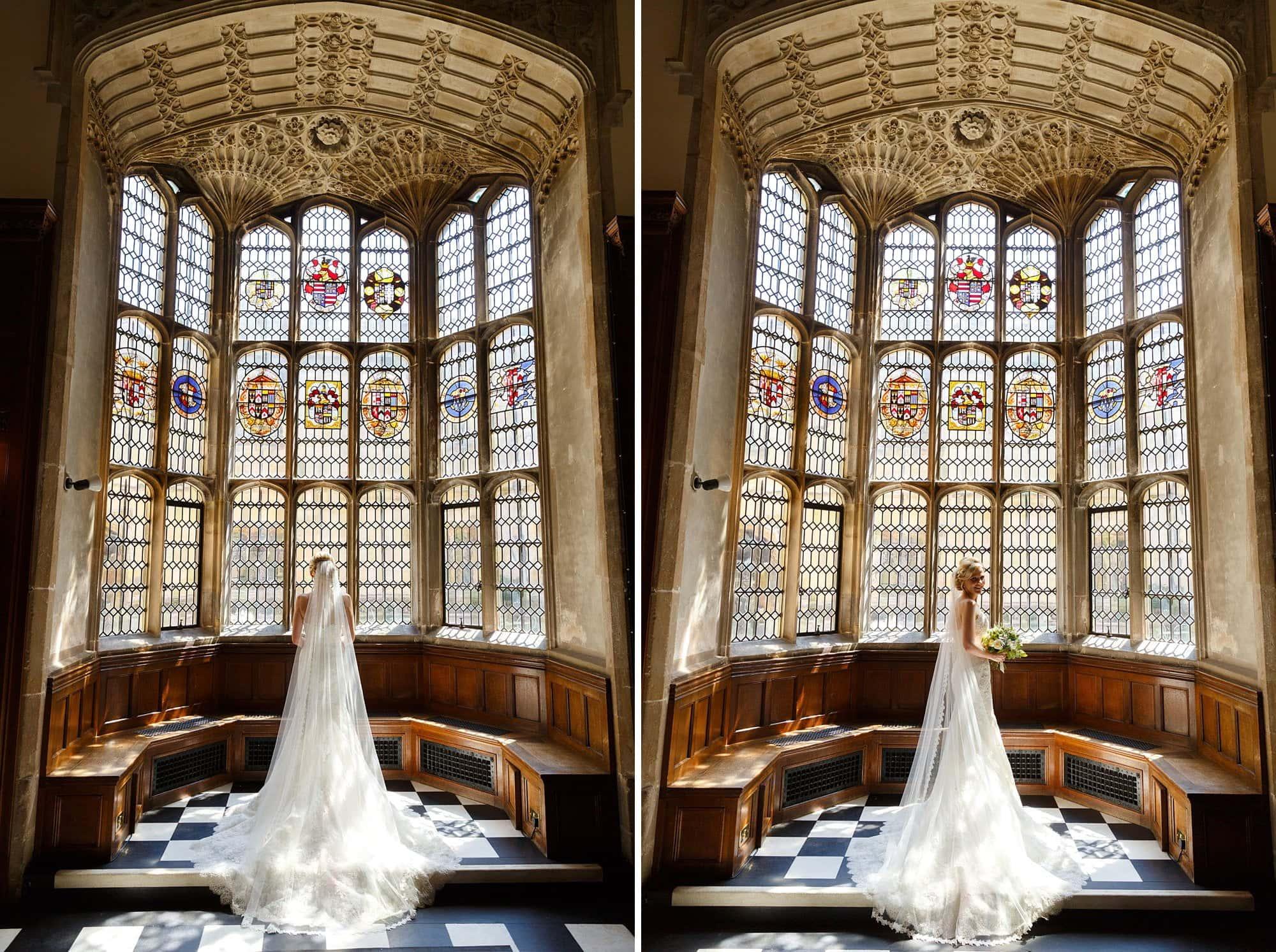 Hengrave Hall bride