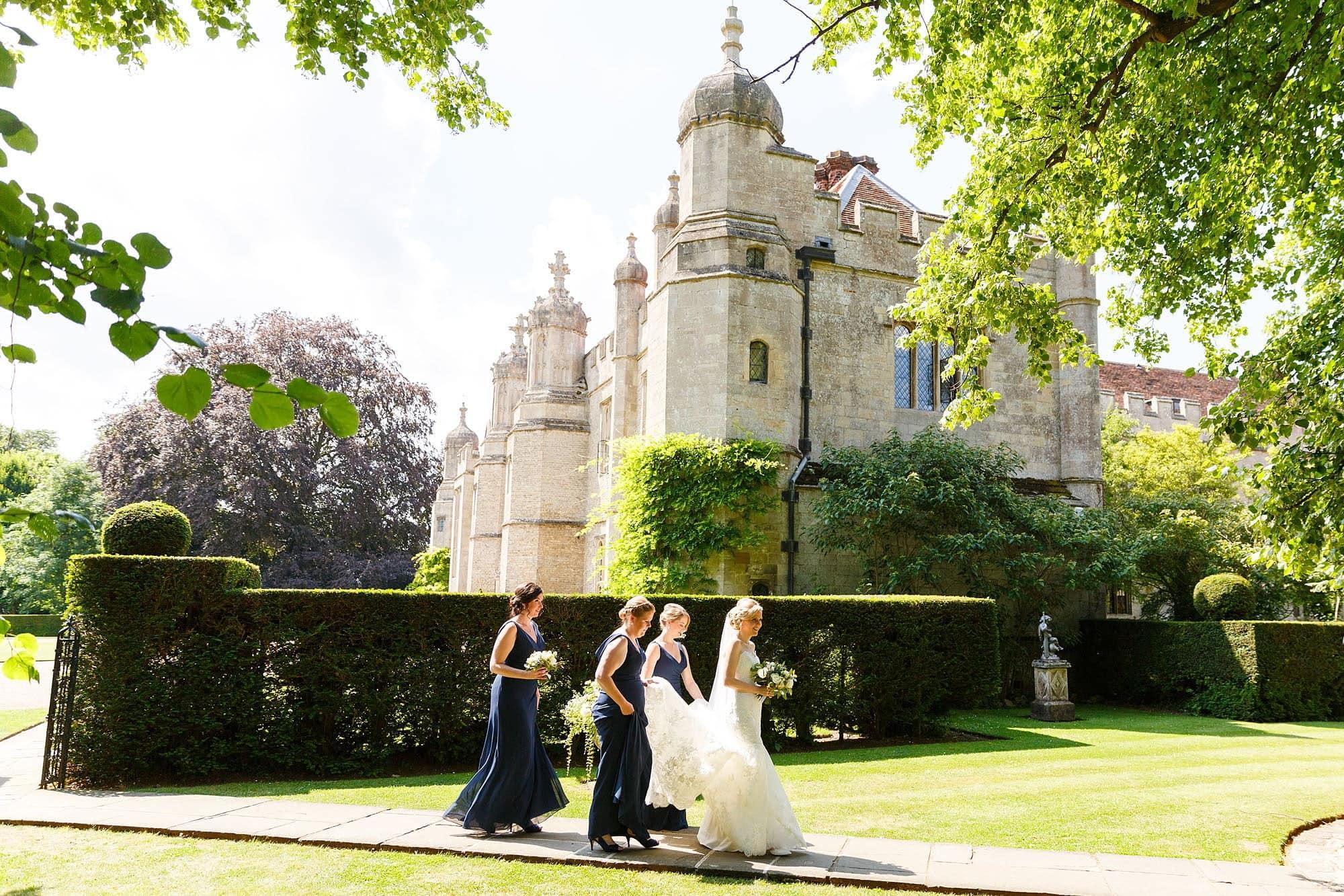 best wedding photographer Hengrave Hall
