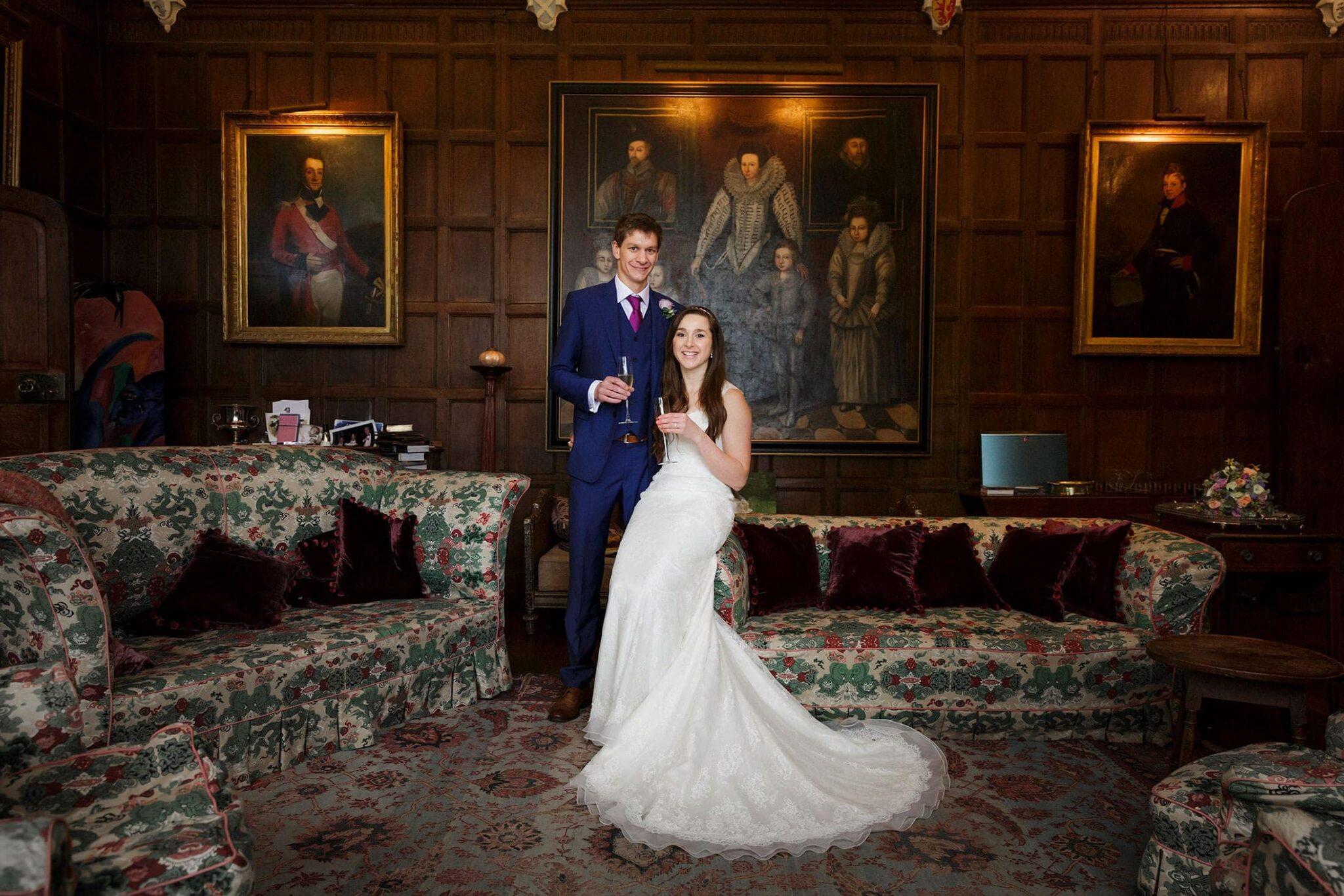 Nether Winchendon spring wedding of Joy & Phil