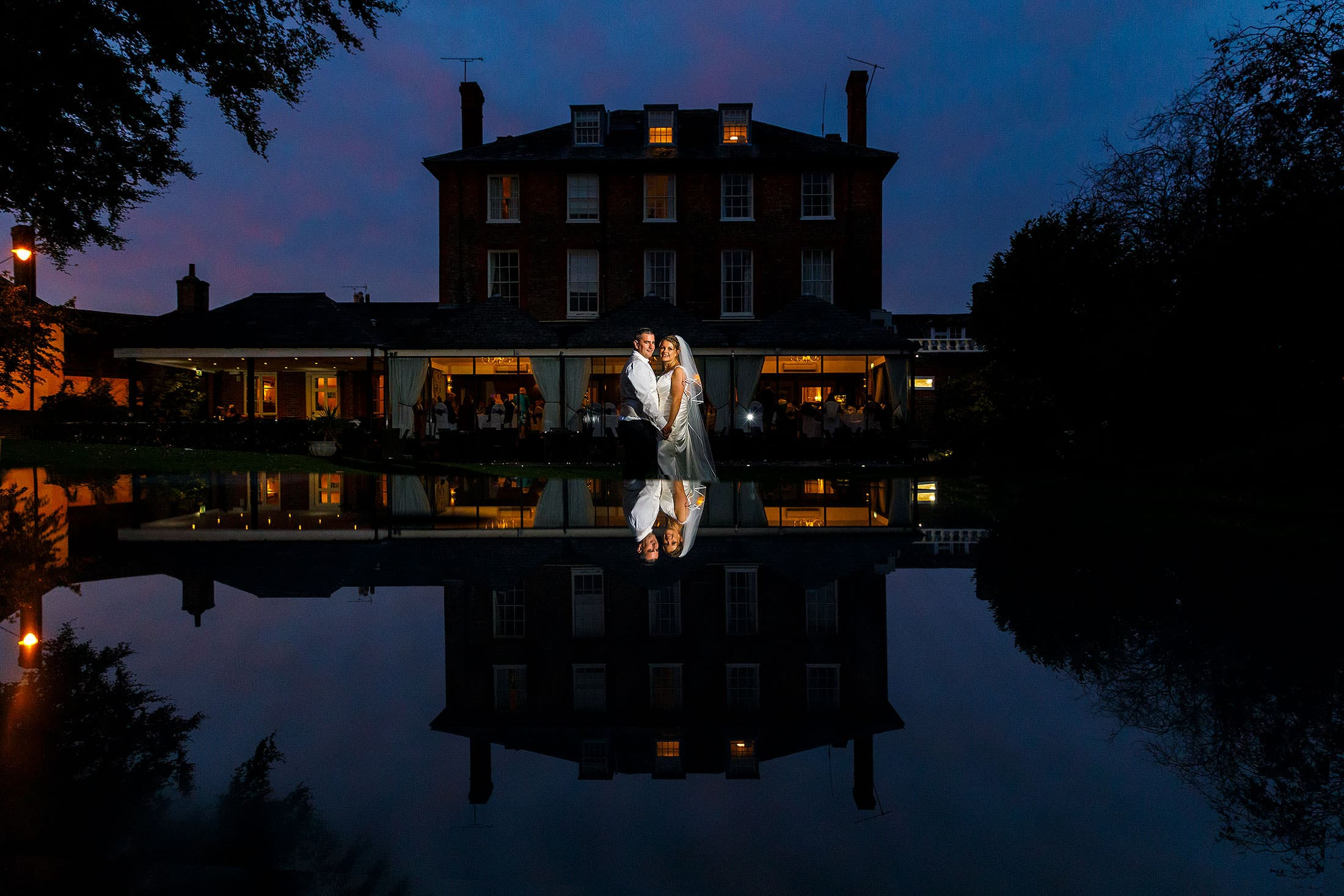 Riverside House Hotel wedding of Katie & Dean