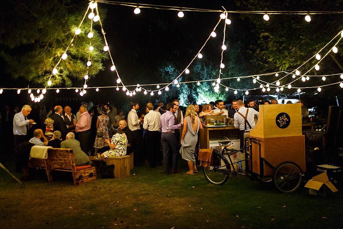 bike bar for weddings