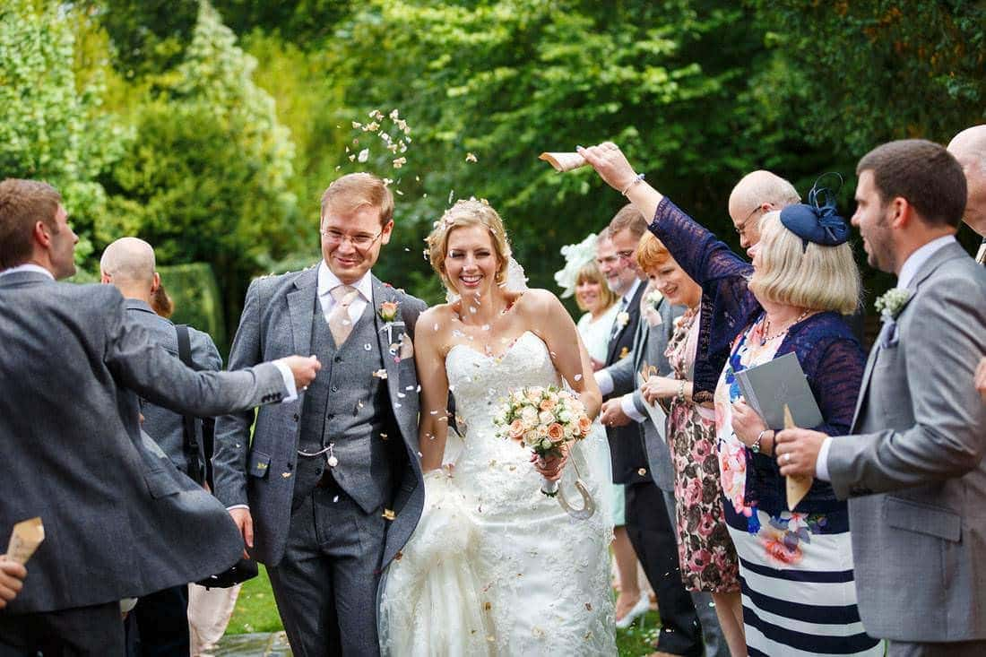 Hengrave wedding photographs