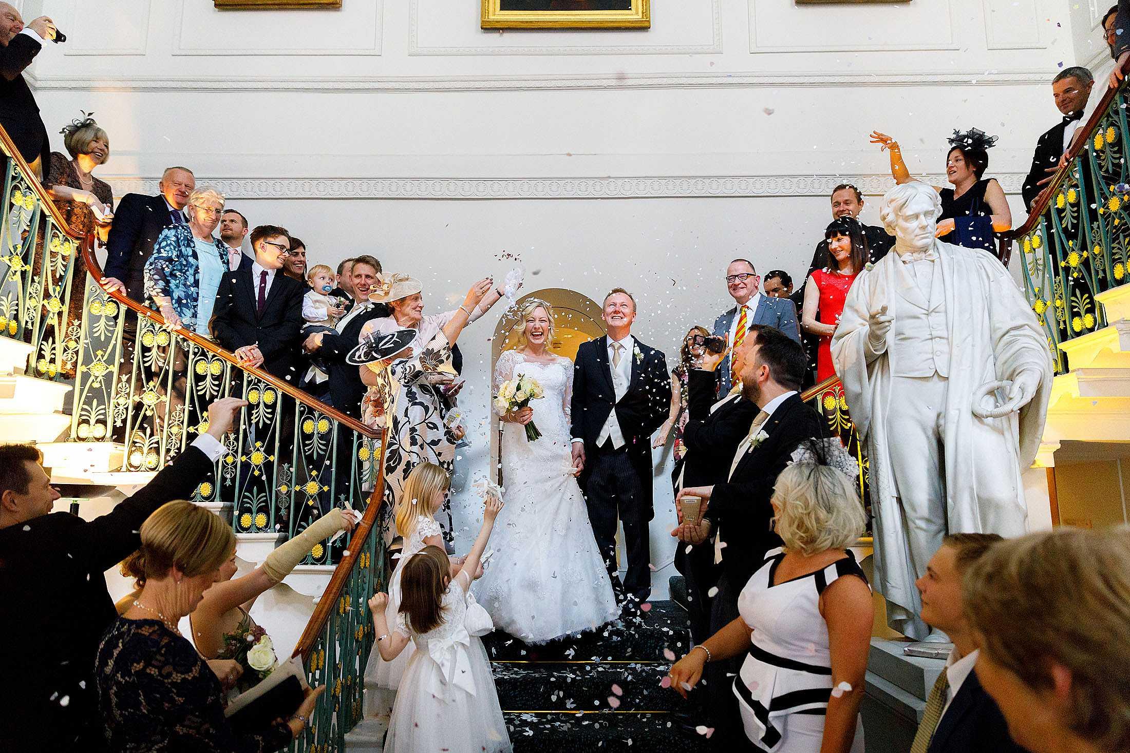 RAC London wedding photography of Zoe & Simon