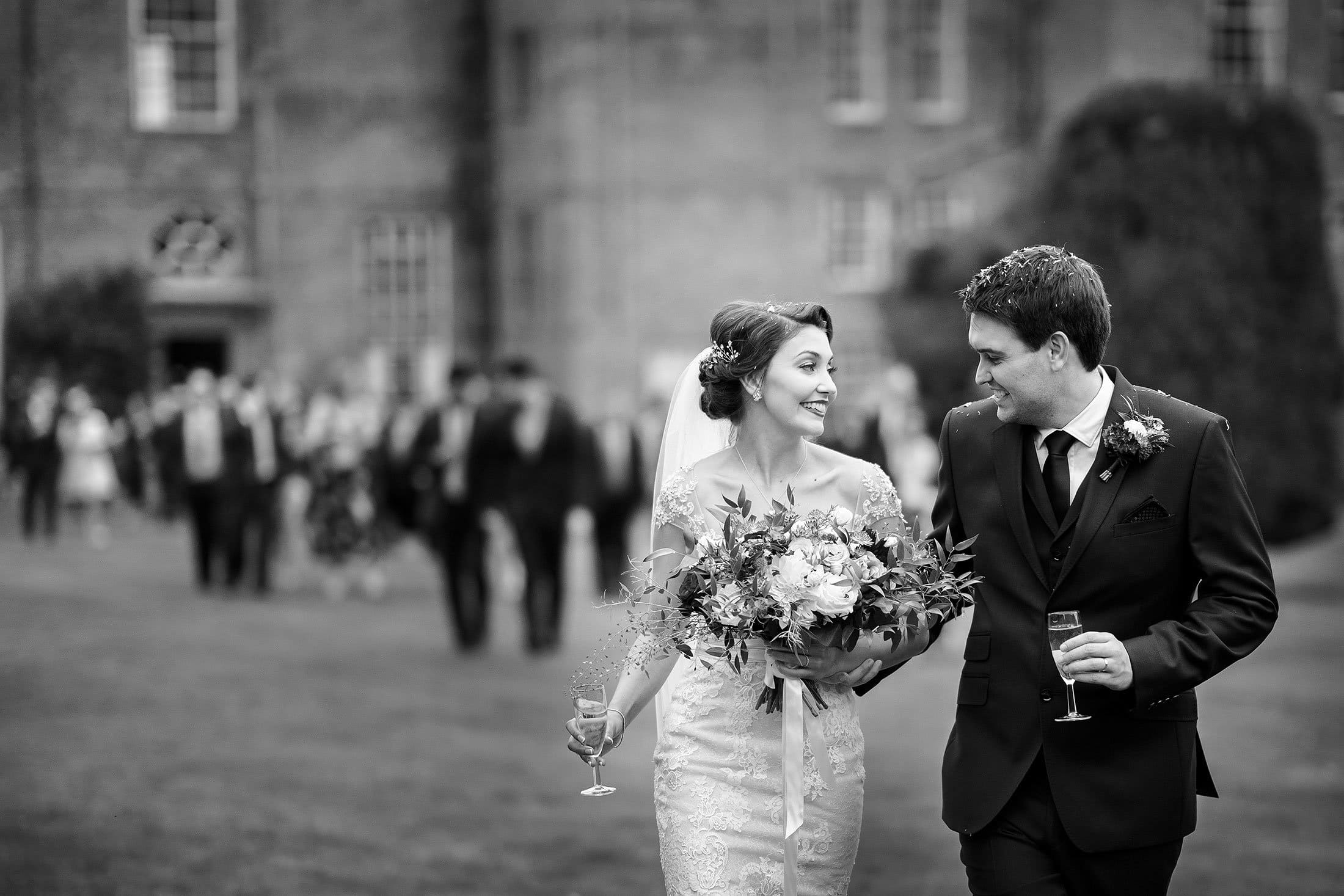 Glemham Hall wedding photos of Laura & Alex