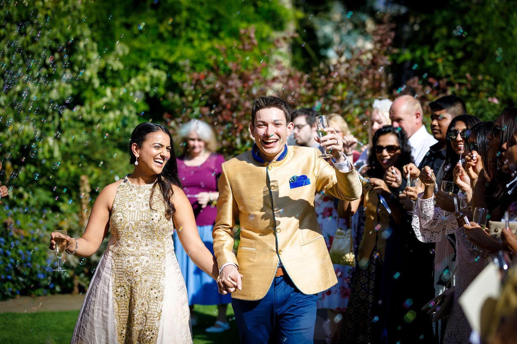 Anstey Hall wedding of Nams & Chris