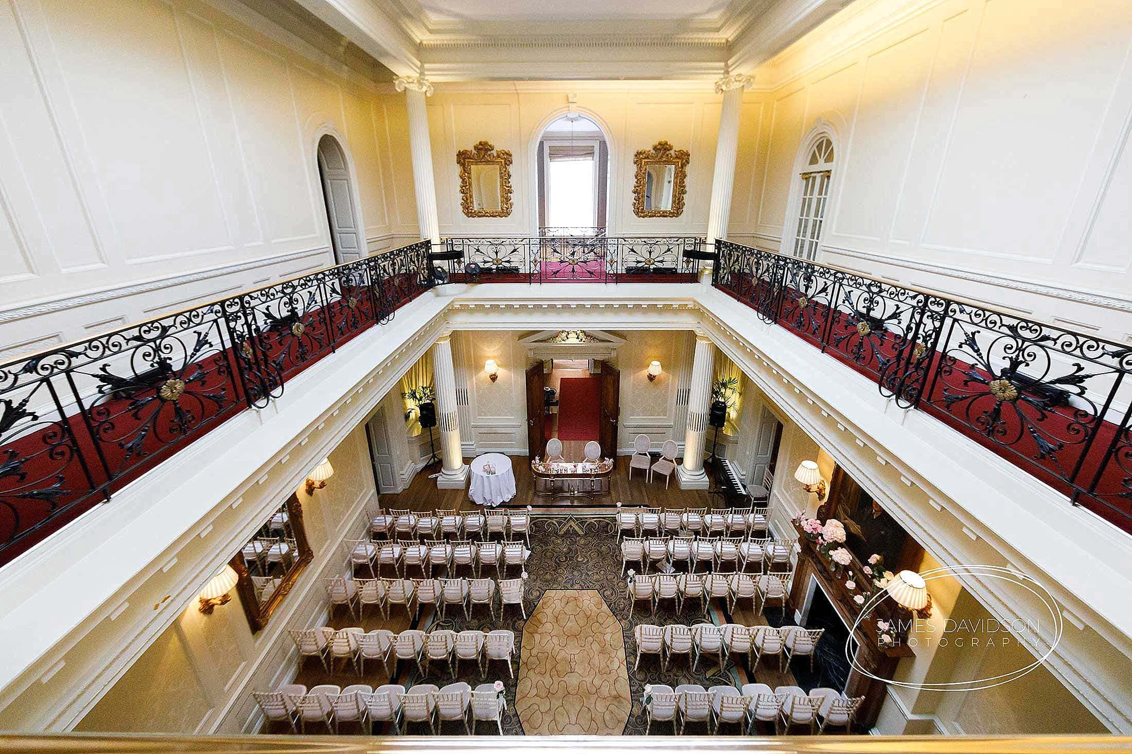Hedsor House wedding room