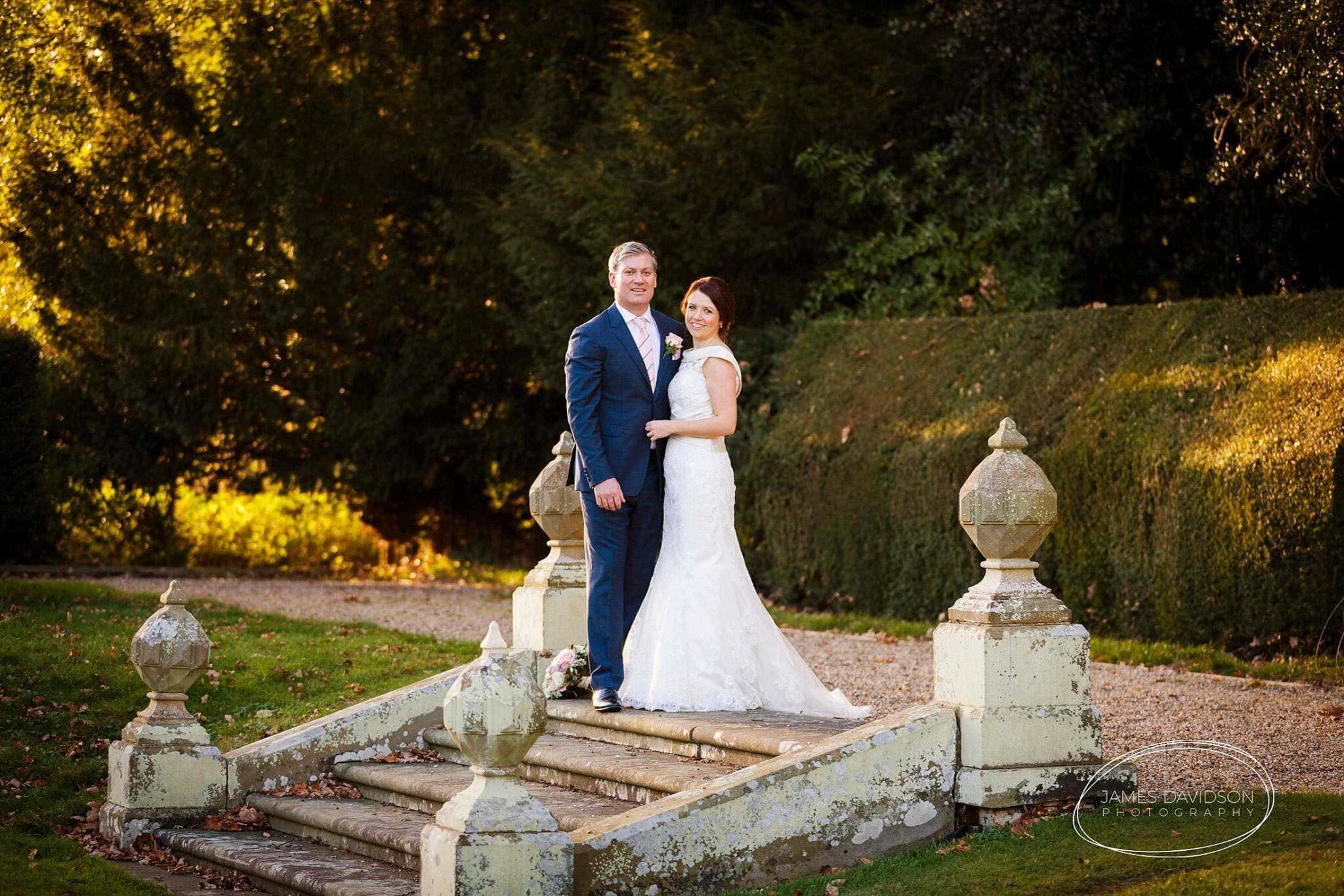 Hengrave Hall autumn wedding photography