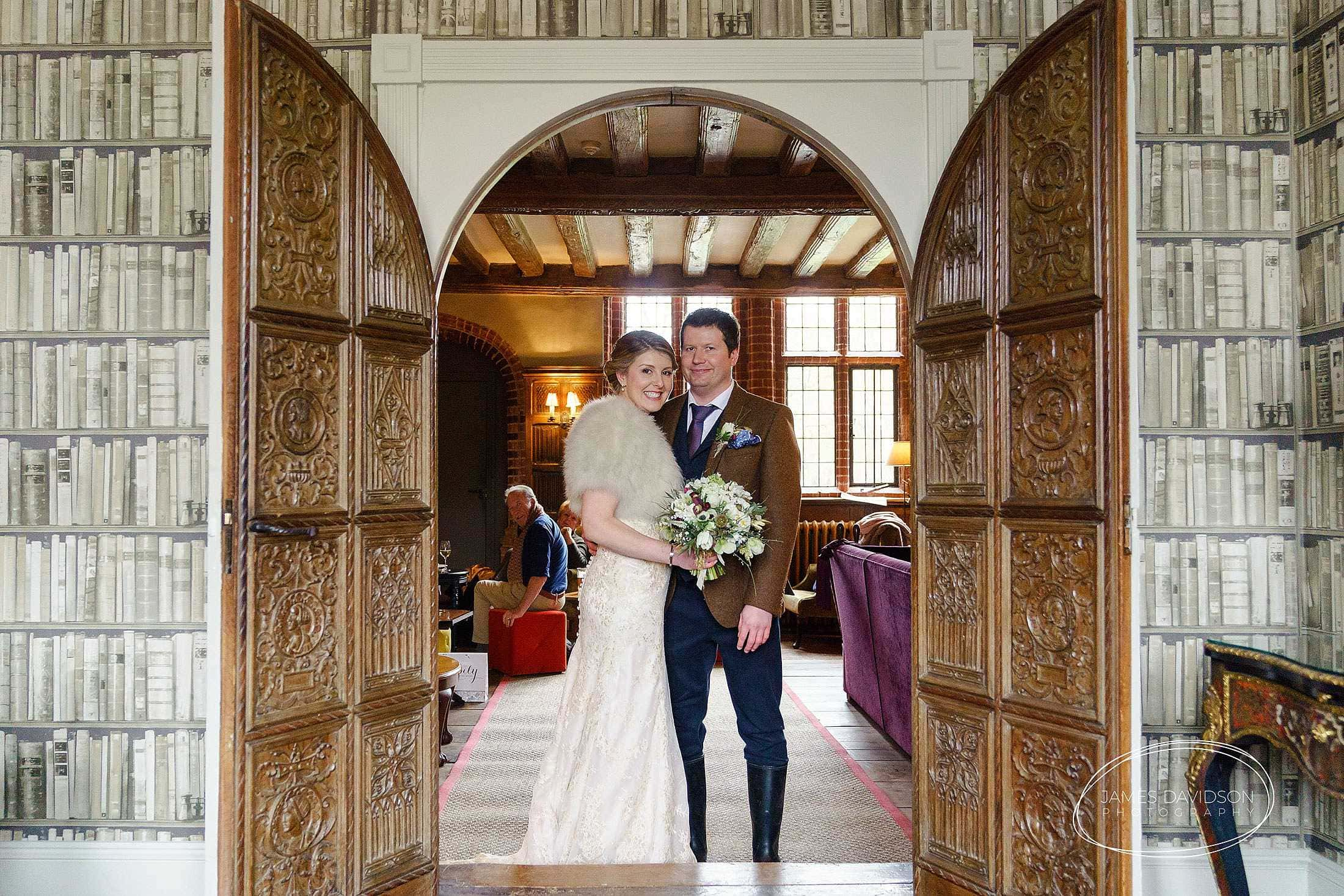Seckford Hall wedding