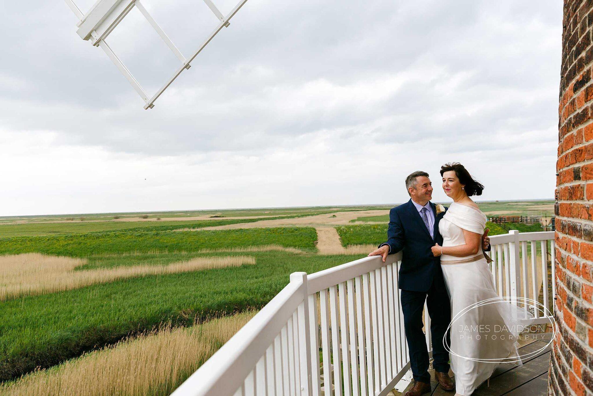 Cley windmill wedding photographer