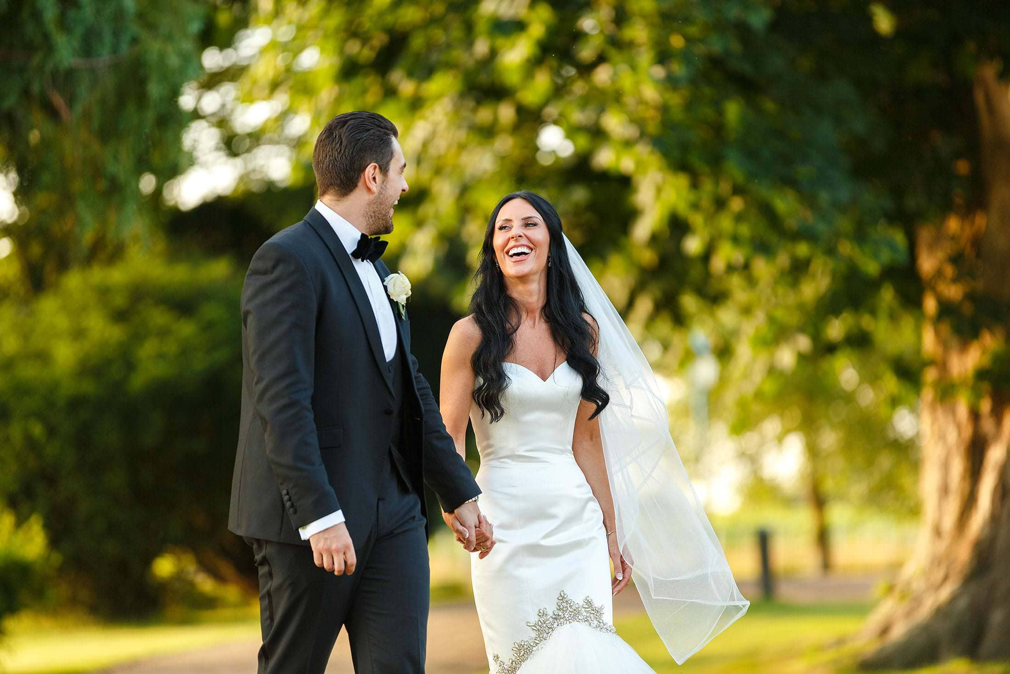 Sarah & Elliot's Gosfield Wedding Hollywood Glamour