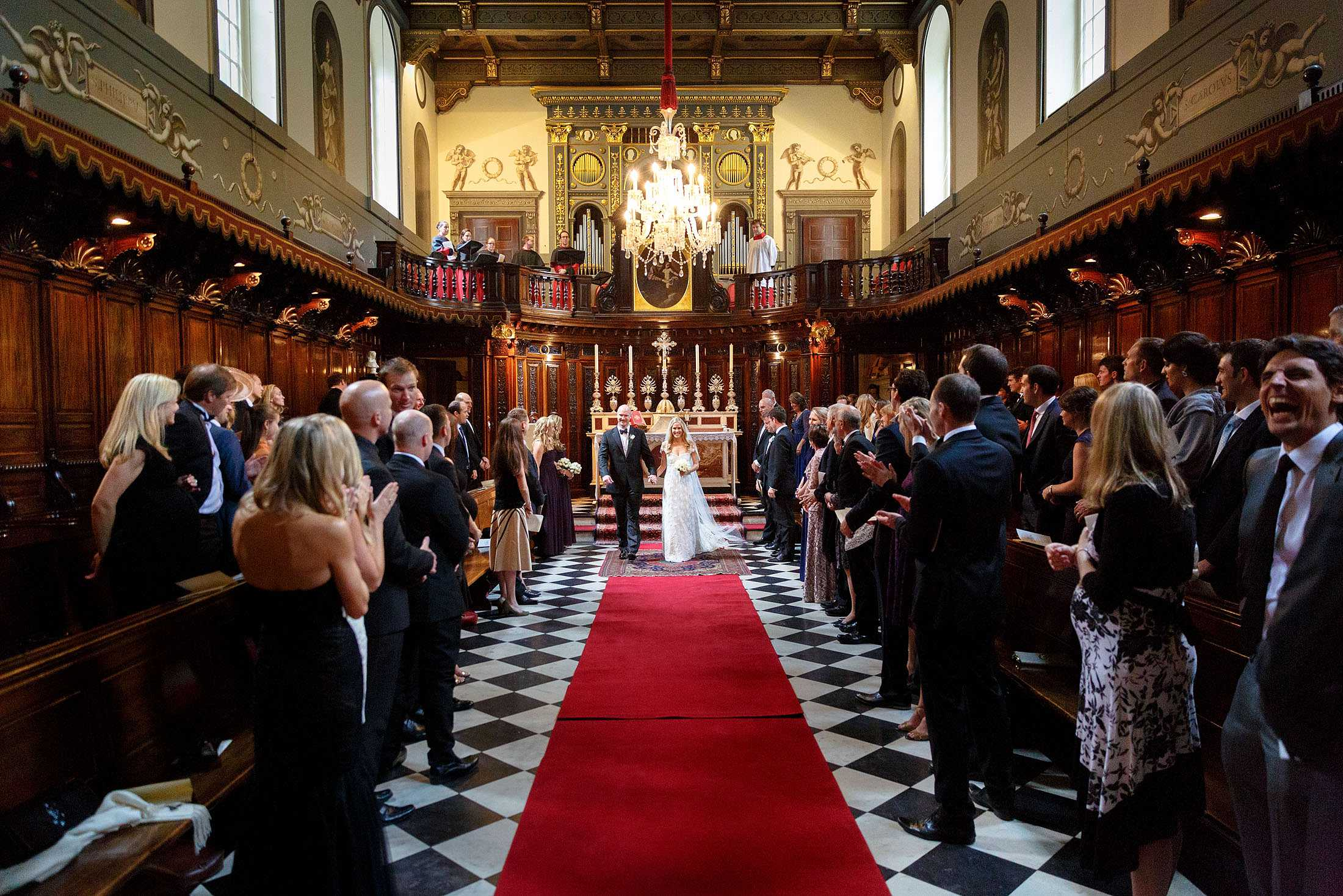 little oratory wedding