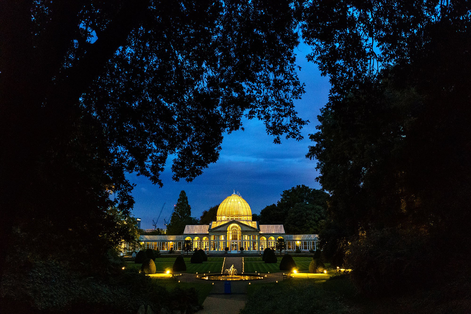 Syon Park wedding