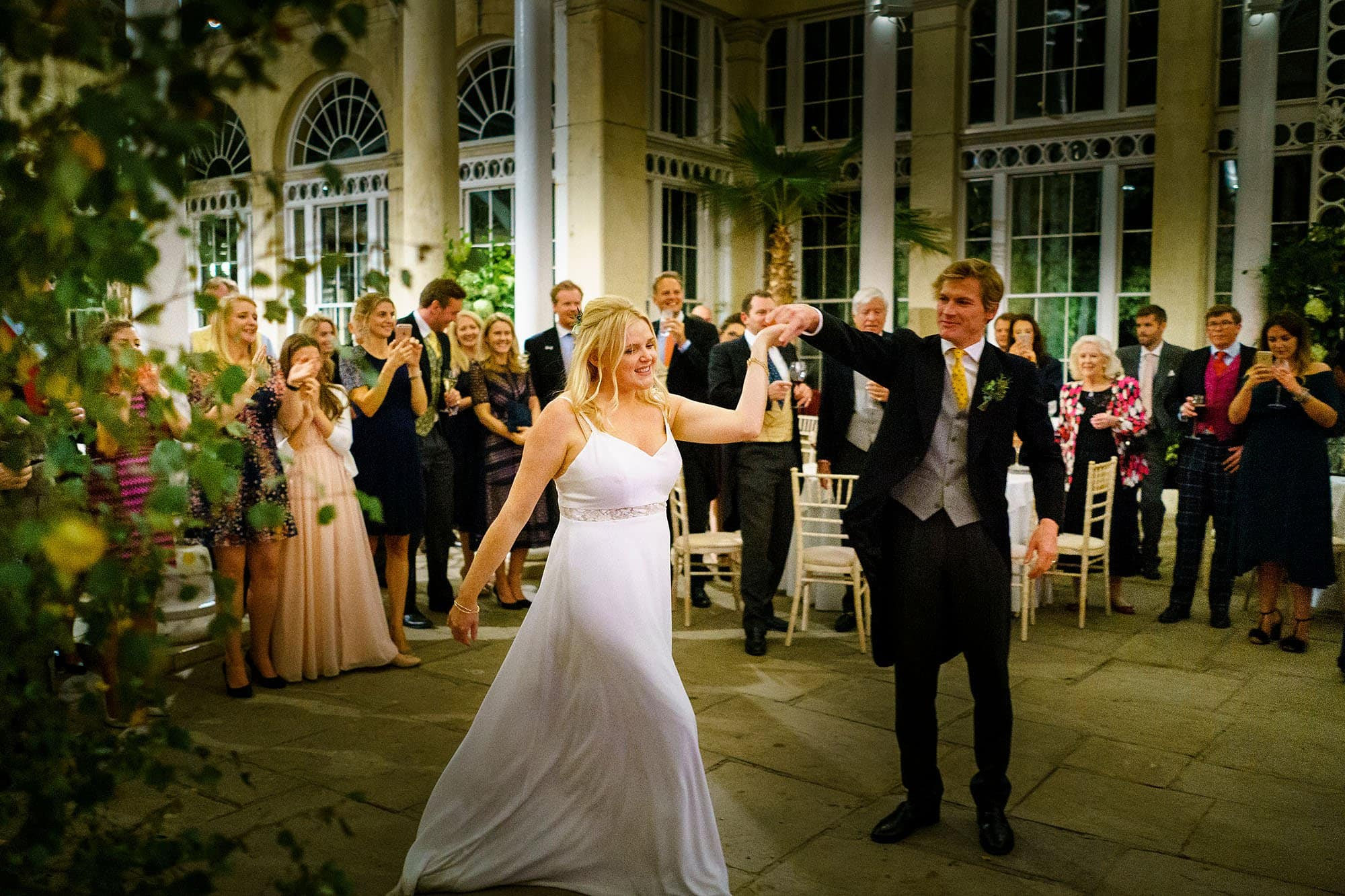 Syon park wedding dancing