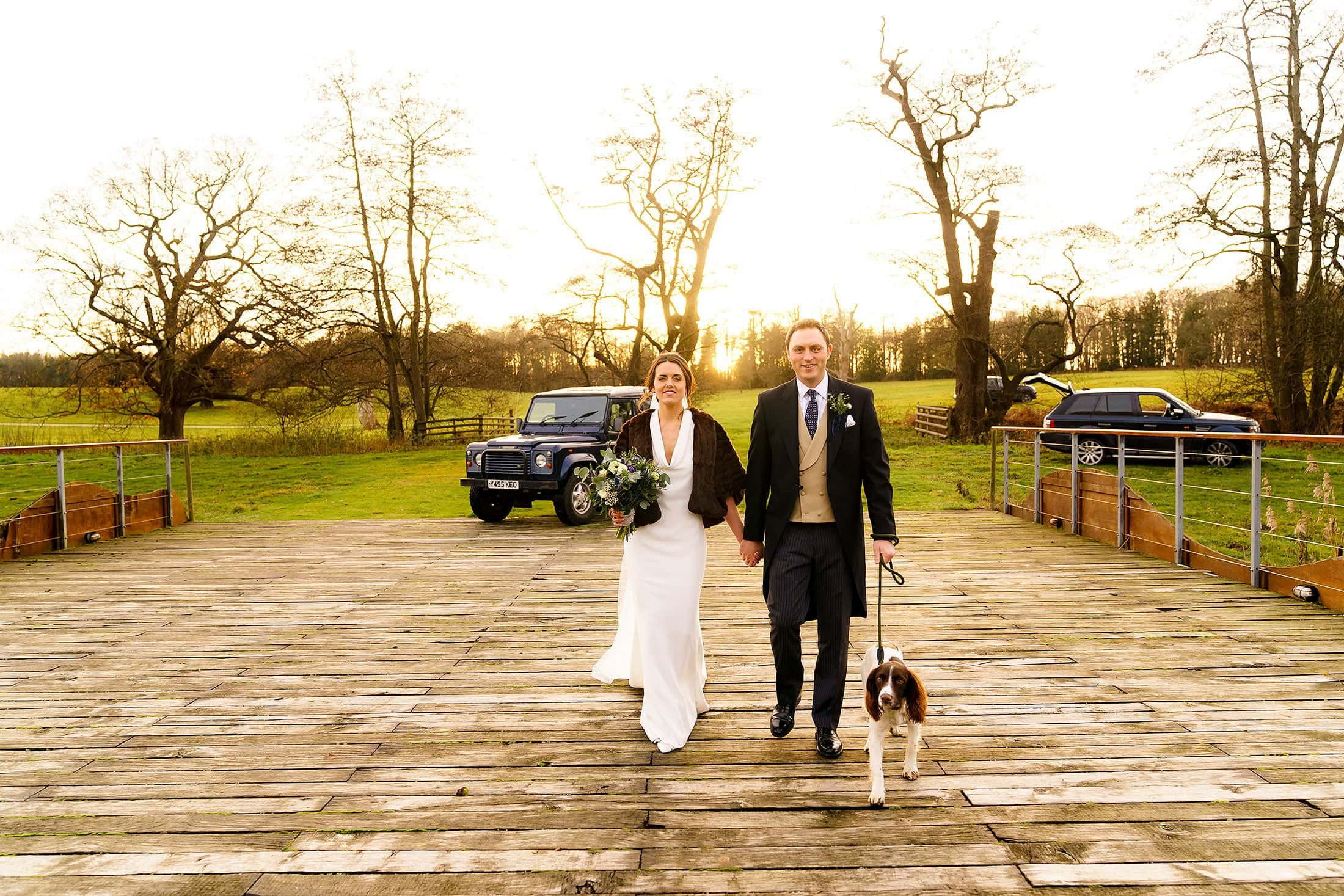 Henham Park wedding of Amelia & Tom